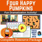 Halloween Song   Pumpkin Activity   Includes mp3s, Music,