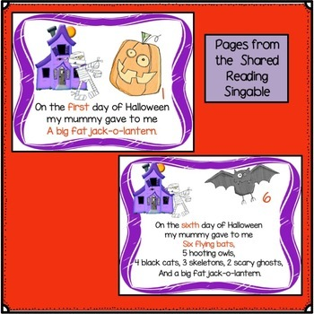 Halloween Song! 10 Days of Halloween Singable
