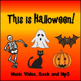 "HALLOWEEN SONG: ""This is Halloween!"" MUSIC VIDEO, BOOK and MP3"
