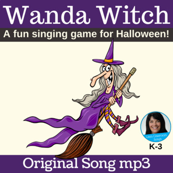 Halloween Song | Witch Activity | Singing Game | Original Song mp3 Only