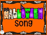 Halloween Song Freebie