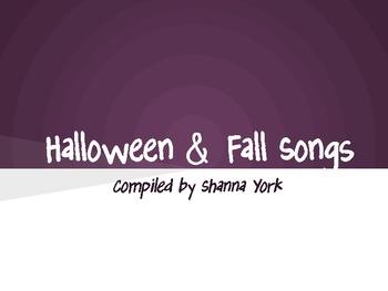 Halloween Songs