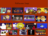 Halloween Songs Interactive Notebook
