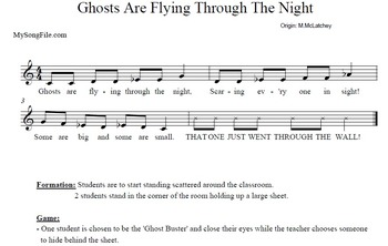 Halloween Songs.Halloween Songs Resources Supporting The Kodaly Method