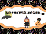 Halloween Songs and Games
