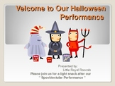 Halloween Songs and Poems Animated  Powerpoint