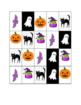 Halloween Sorting Activity