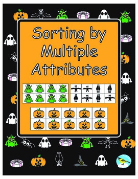 Halloween Sorting by Multiple Attributes