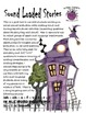 "Halloween Sound Loaded Short Stories for Speech Therapy with ""WH"" Questions"