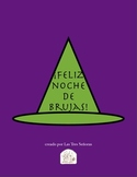 Halloween Spanish Activities/ Noche de Brujas
