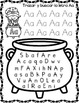 Halloween Spanish Alphabet Fun:  Search and Trace Worksheets