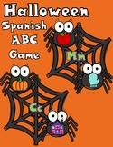 Halloween Spanish Alphabet Game