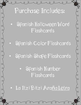 Halloween Spanish Flashcards