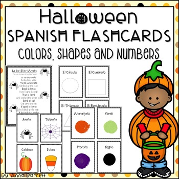 Halloween Spanish Flashcards