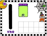Halloween Spanish Number Mats