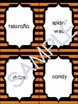 Halloween Spanish Vocabulary Activities