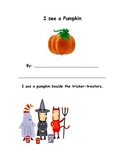 Halloween Spatial Concepts Story Book
