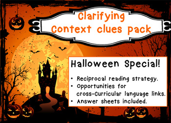 Halloween Special! Clarifying - Context Clues