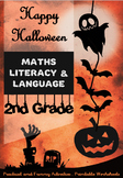 Halloween Special for 2nd Grade - Maths, Literacy, Languag