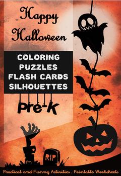 Halloween Special for Pre-K - Interactive Activities - Printable