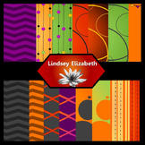 Halloween Spectacular! {Digital Paper Background Set}