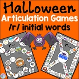 Halloween Speech Therapy Activities for r words