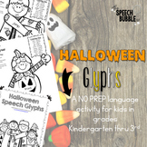 Halloween Speech Glyphs