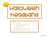 Halloween Speech Headband