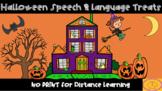 Halloween Speech & Language Treats
