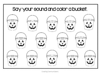 Halloween Speech Pack