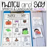 Halloween Speech Therapy Activities   Printable + Digital