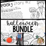 Halloween Speech Therapy Bundle   Main Idea   Idioms