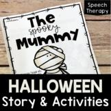 Halloween Speech Therapy | Halloween Story | Speech and La