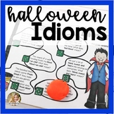 Halloween Speech Therapy | Idioms Activities | Halloween Idioms