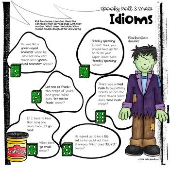 Halloween Speech Therapy   Idioms Activities   Halloween Idioms