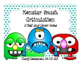 Halloween Speech Therapy - Monster Smash Articulation