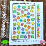 Halloween Speech Therapy Seeking Activity {articulation}