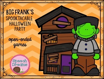 Halloween Speech Therapy {open-ended games for speech/language goals}