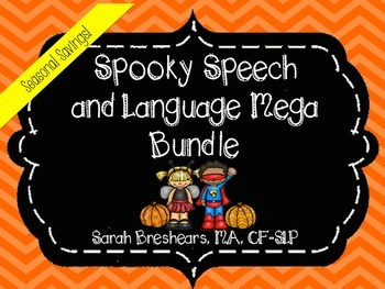 Spooky Speech and Language Halloween Bundle