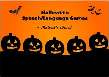 Halloween Speech and Language Games