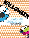 Halloween Speech and Language Pack