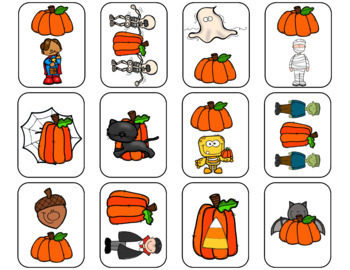 Halloween Speech and Language