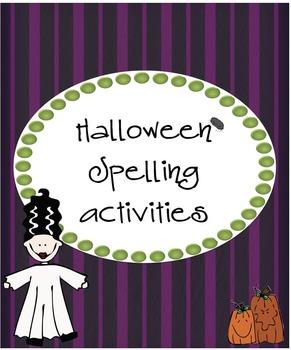 Halloween Spelling