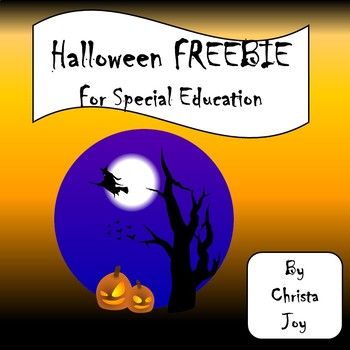 Halloween Spelling FREEBIE