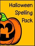Halloween Spelling Pack
