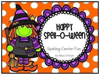 Halloween Spelling Printables- Happy Spell-O-Ween