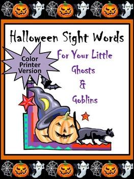 Halloween Spelling & Words Bundle