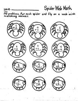 Halloween Spider Web Addition