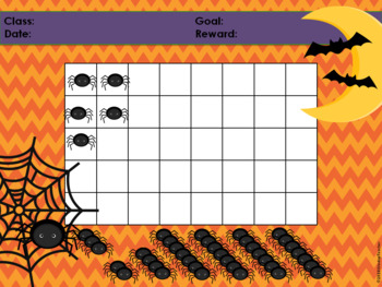 Halloween Spider Classroom Behavior Management System *PowerPoints