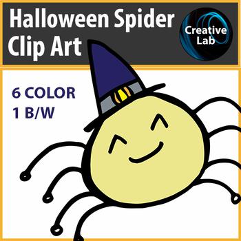 Halloween Spider Clip Art - Freebie